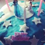 Unsere Torte zum 4. Geburtstag v. Mailin